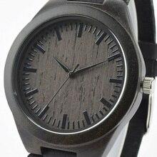 De cuarzo Reloj de Madera Hombres Causual Hombres Caballeros Classic Militar Deportes Reloj de pulsera de Cuero 2016 de La Manera Caliente Mujeres Unisex TKS090