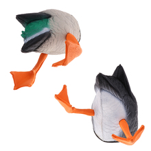 3D Vivid Mallard Duck Butt Shooting Hunting Decoys Butt-up Darke Decoys Greenhand Accessories 2 Type Options Pond Pool Decor darke