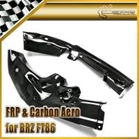 자동차 스타일링 BRZ FT86 탄소 섬유 PJDM 스타일 냉각 패널 광택 섬유 레이싱 자동차 엔진 바디 키트 인테리어 액세서리
