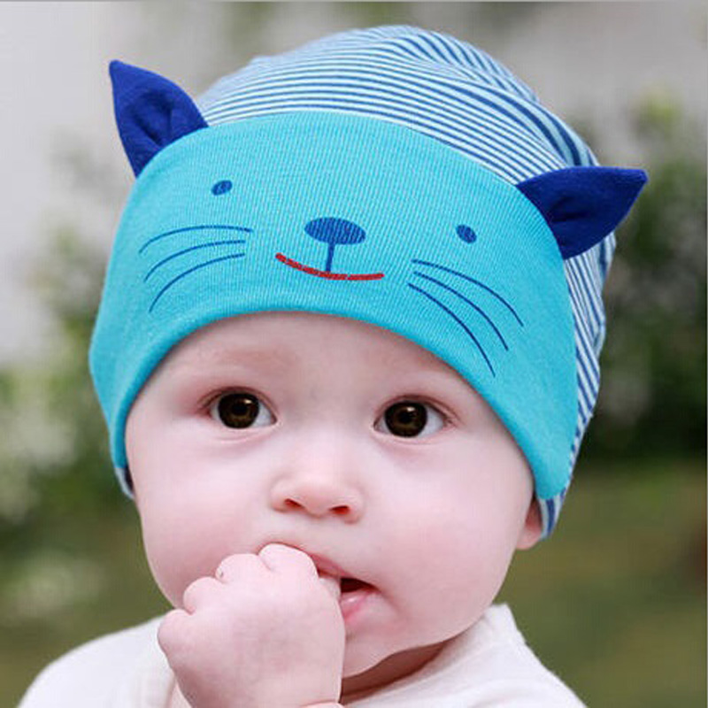 Cute Cartoon Baby Animal Hat Baby Beanie,Girls Boys Toddlers Cotton ...