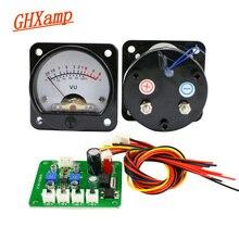 GHXAMP 45 milímetros VU Meter Com Retroiluminação LED + Driver Board + Cabo Para Amplificador Medidor de Nível de Áudio Preamplifier 1 conjuntos