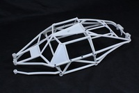 New Rovan Internal Roll Bar Cage Body Protection for Baja HPI 5T 5SC Terminator KM T1000 1/5 Truck