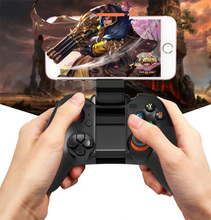 Bluetooth three.zero Wi-fi Multimedia Recreation Pad Controller Deal with Shaking Smartphone Taking part in Gamepad Joystick for Video games For Android