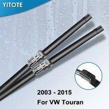 YITOTE стеклоочистителей для Volkswagen Passat Touran 2003 2004 2005 2006 2007 2008 2009 2010 2011 2012 2013