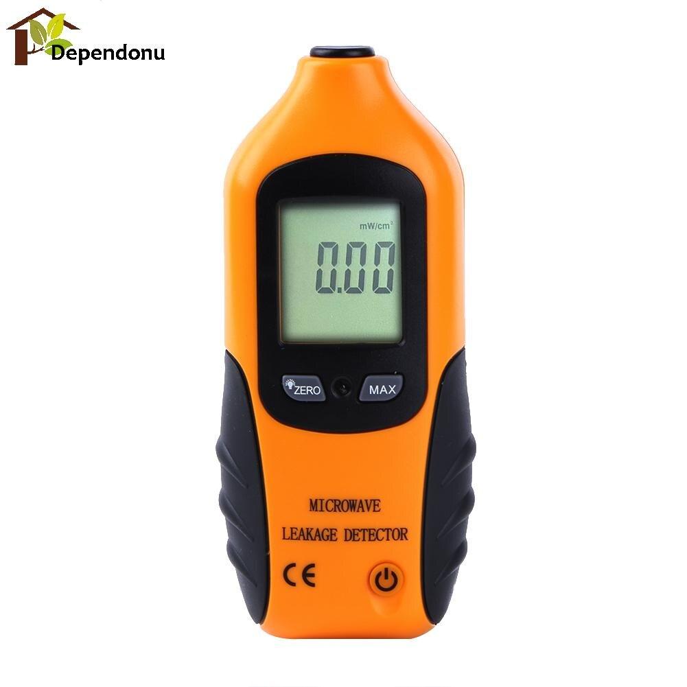 Digital LCD Display Microwave Leakage Detector Percision Radiation Meter Microwave Leaking Tester with Backlight 0-9.99m W/CM2
