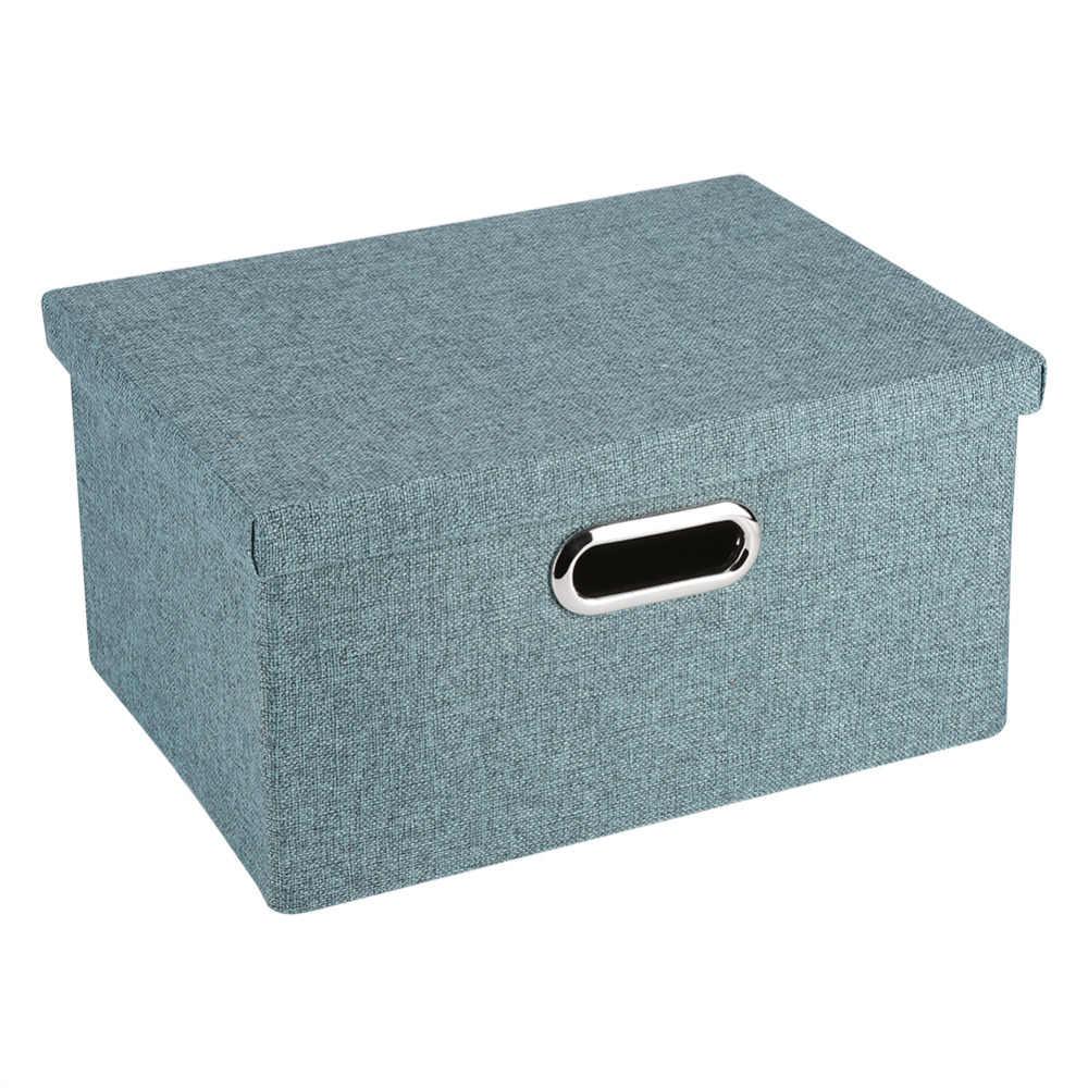 Складные коробки для хранения одежды корзина игрушка ткань нижнее белье полотенце контейнер для белья контейнер