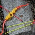3 unids/lote Jugar Juegos Para Niños Al Aire Libre Juegos de Los Deportes Al Aire Libre Juguete Mosca Arcos Deportivos Arco y flecha de Juguete Set Deporte de Los Niños juguete