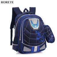 Children School Bags Backpack Spiderman Canvas Cartoon Schoolbags For Kids Shoulder Bags Mochilas Escolares Infantis X738