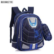 Cartoon Spiderman Orthopedic schoolbags Waterproof Children school backpack for kids shoulder bags mochilas escolares infantis