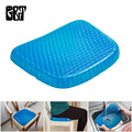 GT Big Size Flexible Gel Seat Cushion Breathable Orthopedic Honeycomb Car Sofa Cushion Cervical Health Care Pain Release Cushion