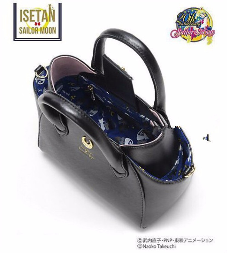 MSMO Sailor Moon Bag Samantha Vega Luna Women Handbag th Anniversary Cat Ear Shoulder bag Hand Bag 11