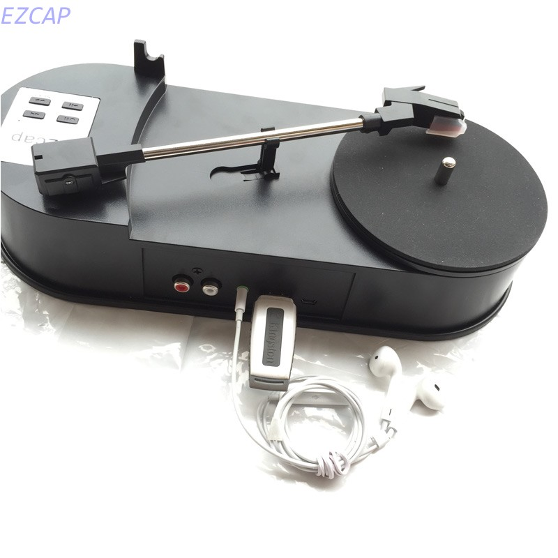 2017 new vinyl player converter capture to MP3 directly into U-Driver SD TF Card 33.3RPM R/L Stereo out Free shipping кассетный плеер vinyl player turntalbe mp3 sd tf u flash pc