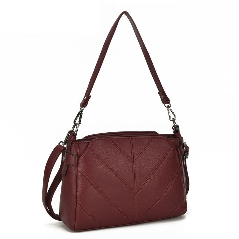 Designer Fashion Womens Bag Leather Handbags Knitting Ladies Shoulder Bags Women Totes Messenger Bags Bolsas Feminina Sac A Main трещотка 3 8 с круглой ручкой сорокин 1 8