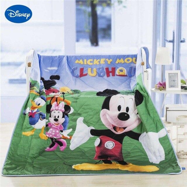 Copriletto Matrimoniale Topolino E Minnie.Us 59 99 Disney Cartoon Topolino E Minnie Mouse Famiglia Estate Trapunte Trapunta Del Bambino Del Ragazzo Letto Copriletto Biancheria Da Letto