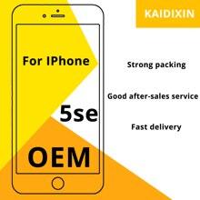 OEM AAA + + + איכות עבור iPhone 5SE LCD 100% לא מת פיקסל pantall עבור iPhone 5SE מסך Digitizer עצרת החלפה משלוח כלים