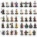 Single Sale Star Wars Super heros Marvel DC   Darth Revan Yoda Deadpool Batman figures building blocks toys