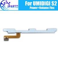 UMIDIGI S2 Seite Taste Flex Kabel 100% Original Power + Lautstärke taste Flex Kabel reparatur teile für UMIDIGI S2