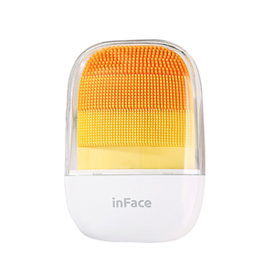 Image 4 - inFace Electric Deep Facial Cleaning Massage Brush Sonic Face Washing IPX7 Waterproof Silicone Face Cleanser Skin Car