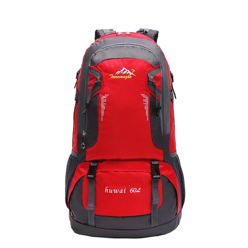 60L kültéri ultrakönnyű túrázás kerékpározás hegymászás futás kemping vadászat sport hátizsák turisztikai vízálló táska hátizsák