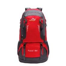 60L Outdoor Ultralight Hiking Cycling Climbing Running Camping Hunting Sports Backpack Tourist Waterproof Bag Knapsack Rucksack