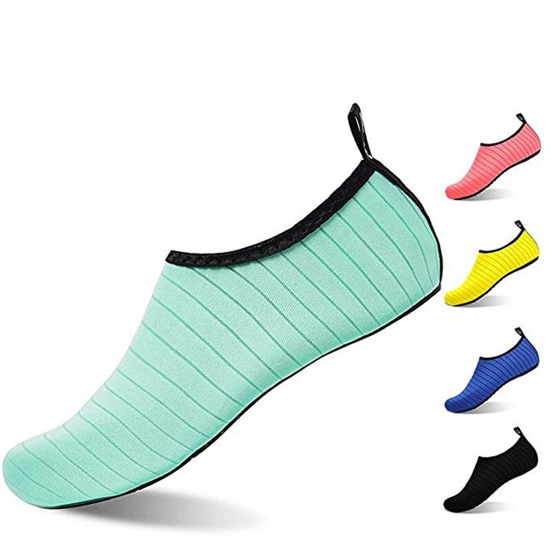 Do aqua Sapatos de Verão Homens Respirável Sapatos Mulher Tênis Adulto Praia Chinelos Sapatos Upstream Natação Meias Mergulho Tenis Masculino