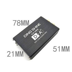 Image 2 - Lusya HIFI USB חיצוני כרטיס קול ES9018K2M DAC מפענח NE5532 + TL072 מגבר שרת תמיכת 24bit 96kHz A2 002
