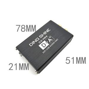Image 2 - Lusya HIFI USB external sound card ES9018K2M DAC decoder NE5532+TL072 op amps support 24bit 96kHz A2 002