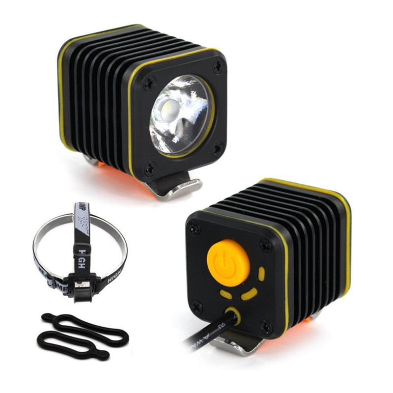 MINI USB 5000lm 4 Modes XM-L T6 LED Bicyle Light Head Touch BikeLight Headlight Mountain Lamp