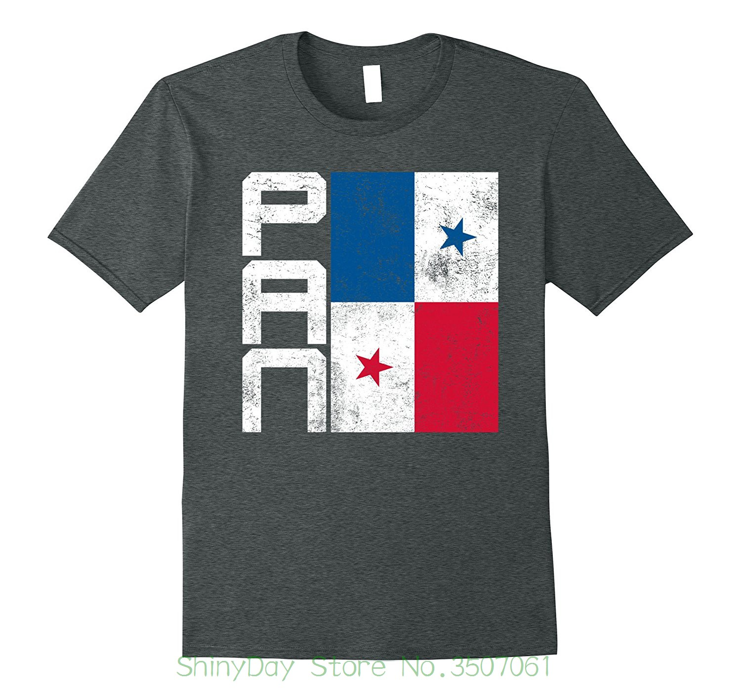 Tshirt Tops Summer Cool Funny T-shirt Panama Flag T-shirt nation flag team Country Supporter Pan