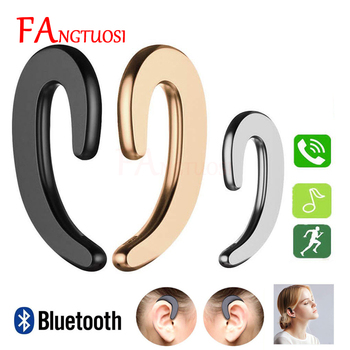 FANGTUOSI 2019 Mini Wireless Bluetooth Earphone Painless Sport Headset Business Ear Hook earpiece With Mic For ios and Android