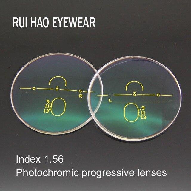 8f1fb9ec4de4b 1.56 Lentes Progressivas Lentes Fotocromáticas Marrom ou Cinza óculos de  Sol Fotocromáticas Lente Longe Perto de