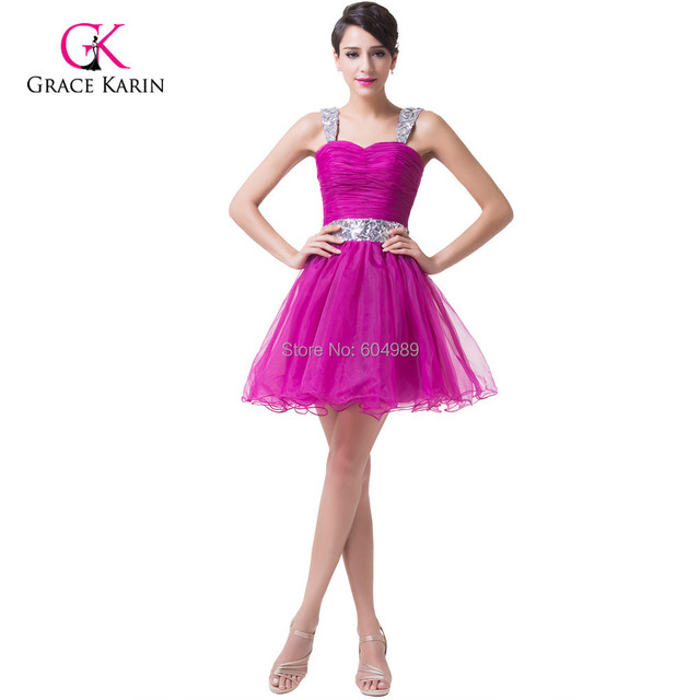 3c9c277c3763 Lovely Beadings Rose Red Homecoming Dresses Short Sweetheart Prom Ball Gown  Girls Mini Sequins Party Cocktail Dress 6176