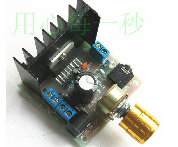 TDA7297 amplifier board/AB/double track no noise ac/dc 12 v products tda7297