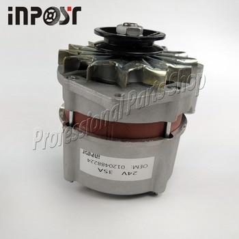 Nuevo alternador 24V 35A para magirus-deutz Iveco 0120488224 0120489023