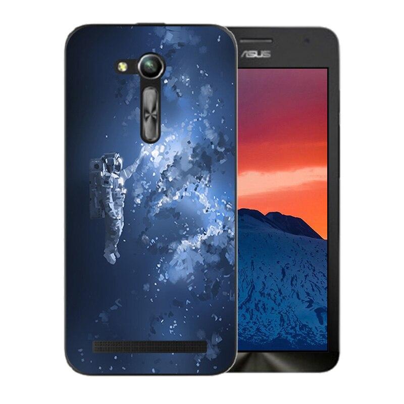 Case For Asus ZB450KL Cases Space Sky Pattern For Asus Zenfone GO 2nd Gen ZB452KG ASUS_X014D ZB450KL 4.5 inch Case Cover