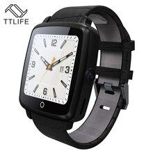 Bestseller TTLIFE Marke Bluetooth Smart Uhr Tragbare Geräte Unterstützung SIM TF Karte Smartwatch Für Apple Android telefon pk dz09