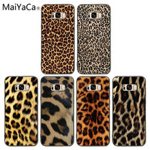 For coque Samsung S7 Fashion Tiger Leopard Print Panther phone Case cover For Samsung Galaxy S9 S10 edge S8 PLUS S6 S5 Note7 8 9(China)