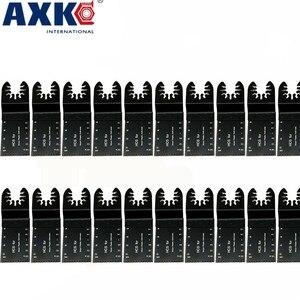 Image 1 - 20 pcs רב פונקציה דו מתכת דיוק להב מסור נדנוד Multitool להב מסור שיפוצניק כוח חיתוך Multimaster כלים