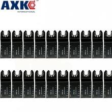 20 pièces lame de scie de précision bi métal multifonction lame de scie multi outils oscillante pour rénovateur outils Multimaster de coupe électrique