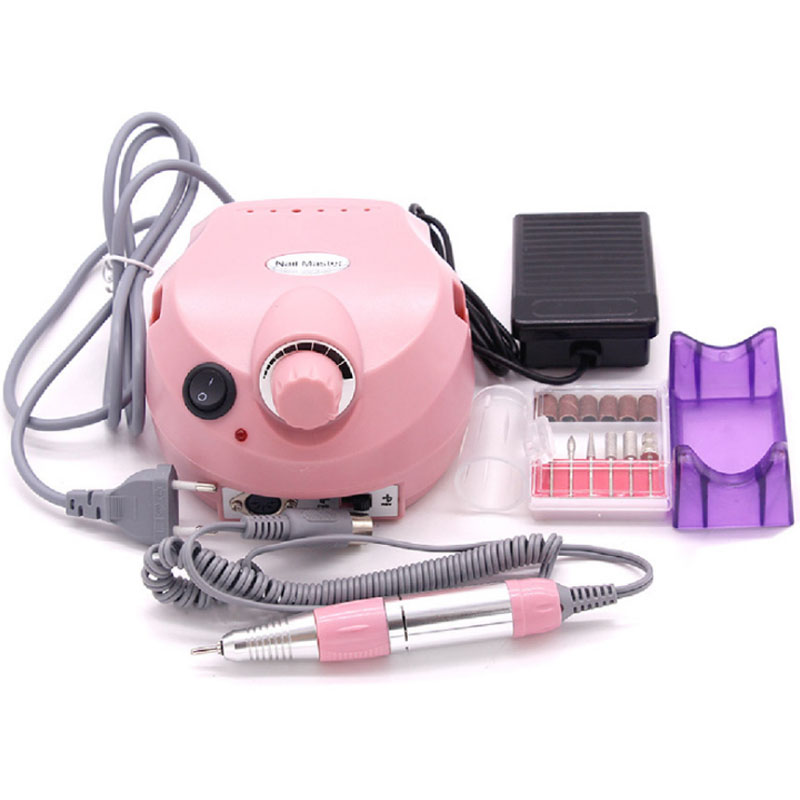 Electric Nail Drill Machine 30000 RPM Professional Manicure For Gel Polish Carving sanding engraving Nail Tool for manicurist nail clipper cuticle nipper cutter stainless steel pedicure manicure scissor nail tool for trim dead skin cuticle