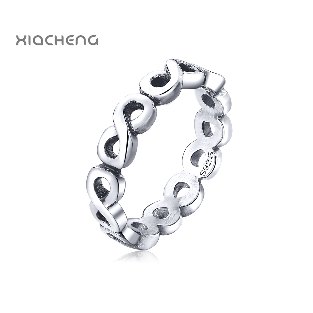 New trend Authentic 100% 925 Sterling Silver Rings with Cross Women Wedding & Party Fashion Rings Fit Rings Jewelry R106