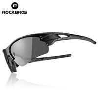 ROCKBROS Cycling Outdoor Bike Polarized Photochromatic Glasses Sport Bicycle Sunglasses Goggles Myopia Frame Protection Eyewear