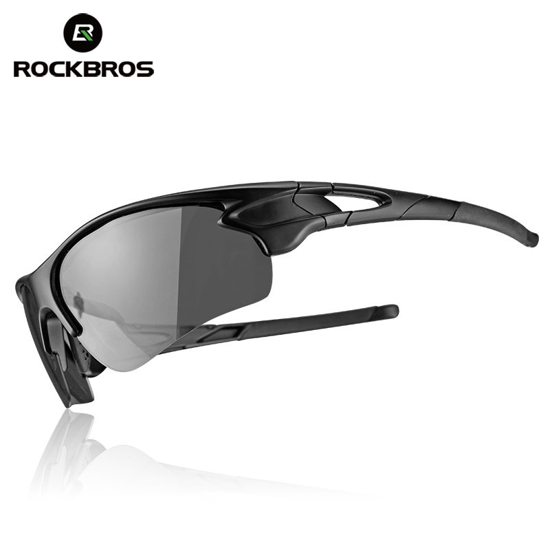 ROCKBROS Cycling Outdoor Bike Polarized&Photochromatic Glasses Sport Bicycle Sunglasses Goggles Myopia Frame Protection Eyewear half frame male pure titanium with polarized glasses myopia glasses sunglasses night vision clip titanium frame magnet driving