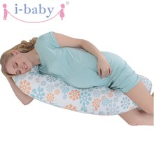 i-baby Full Body Pregnancy Pillow Pregnant Maternity & Nursing Support Cushion w/ Washable Pillow Cover – C Shaped