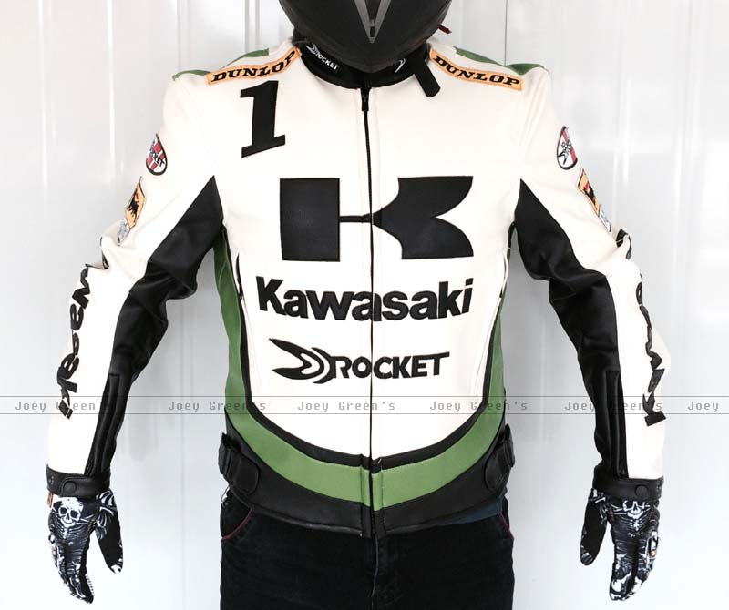 PU racing jacket for Kawasaki motorcycle racing off-road motorcycle riding clothes leather jacket wind fall proof clothes rs taichi rsj285 motorcycle drymaster storm jacket racing clothes