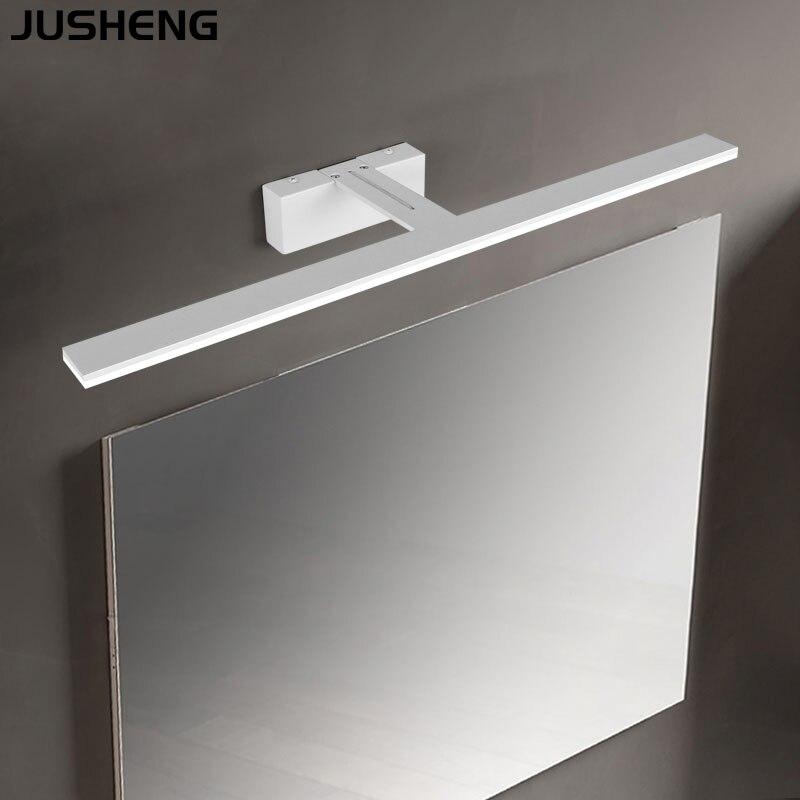 JUSHENG Bathroom led light modern makeup lamp bathroom bathroom equipment mirror lamp 9W 12W 14W 16W18W wall lamp