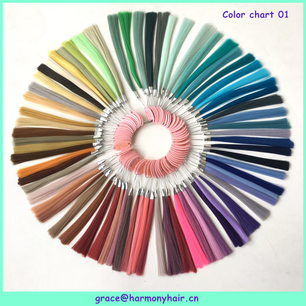 Free shipping 1setlot 146 colors synthetic hair color chart for free shipping 1setlot 146 colors synthetic hair color chart for jumbo braiding hair synthetic color wheel color ring in color rings from hair extensions nvjuhfo Images