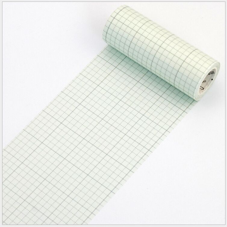 все цены на 100mm wide Blue green grid vintage memo notes decoration writing washi tape DIY planner diary scrapbooking masking tape escolar