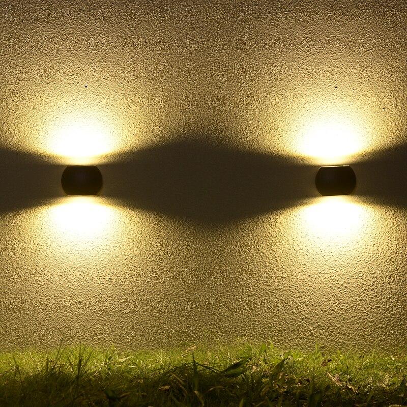 Landscape Lighting Classes: High Class 2017 New Design 6W Outdoor LED Wall Light IP54