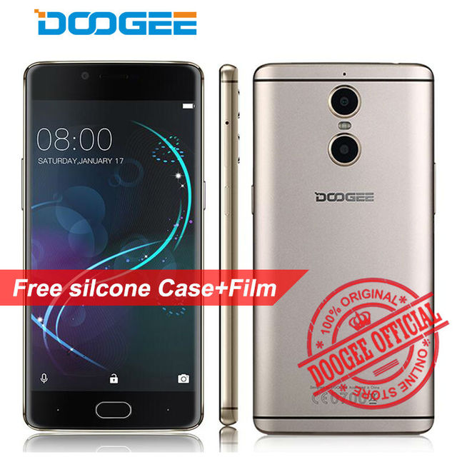 "DOOGEE Shoot 1 Smartphone Dual rear camera 5.5"" MT6737T Quad Core Android 6.0 2GB+16GB 13MP 3300mah fingerprint 4G mobile phone"